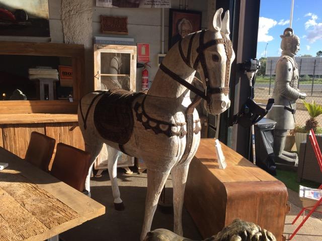 Thail ndisches teak pferd teakshop llucmajor for Dekoartikel aus holland
