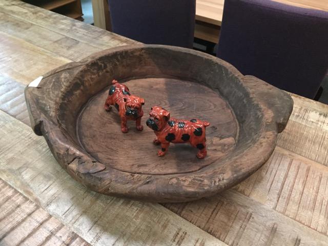 Holzschale teakshop llucmajor for Dekoartikel aus holland
